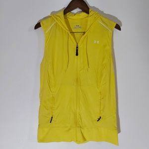 Under Armour Womens All Season Bright Hooded Vest Large